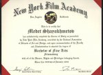 Alem Participant Graduated from prestigious Film Academy in the USA
